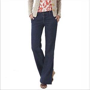 J Brand Seline Wide Leg Bell Trousers 26